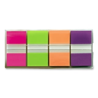 Post-it Bright Colors Portable Flag - 4/PK