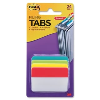 Post-it Filing Angle Tab - 24/PK