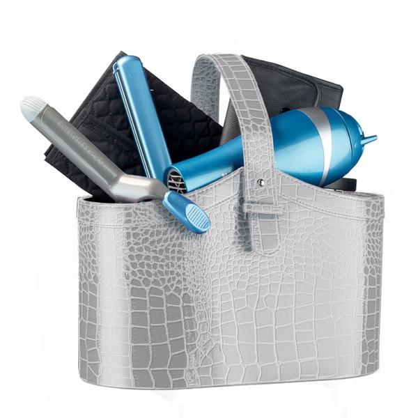 BaBylissPRO NanoTitanium Hair Dryer, Flat Iron, Curling Iron, and Comb Set