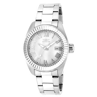 Invicta Women's 20315 Angel Quartz 3 Hand White Dial Watch