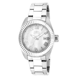 Invicta Women's 20315 Angel Quartz 3 Hand White Dial Watch|https://ak1.ostkcdn.com/images/products/10909160/P17940989.jpg?impolicy=medium