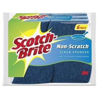 Scotch-Brite Non-Scratch Scrub Sponges - 6/PK