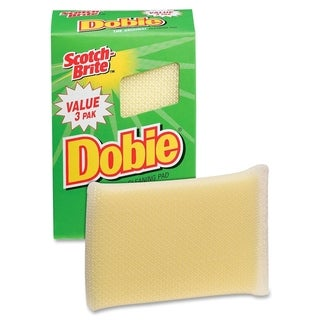 Scotch-Brite Dobie All Purpose Cleaning Pad - 3/PK