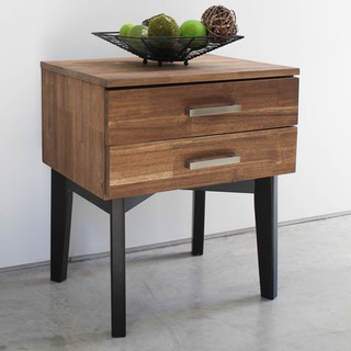 International Caravan Lugano Solid Acacia Hardwood Side Table