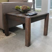 International Caravan Malmo Solid Acacia Hardwood End Table