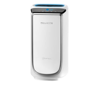Rowenta PU4020 White Intense Pure Air HEPA Filter Air Purifier + Pollution Sensors and (4) Filters