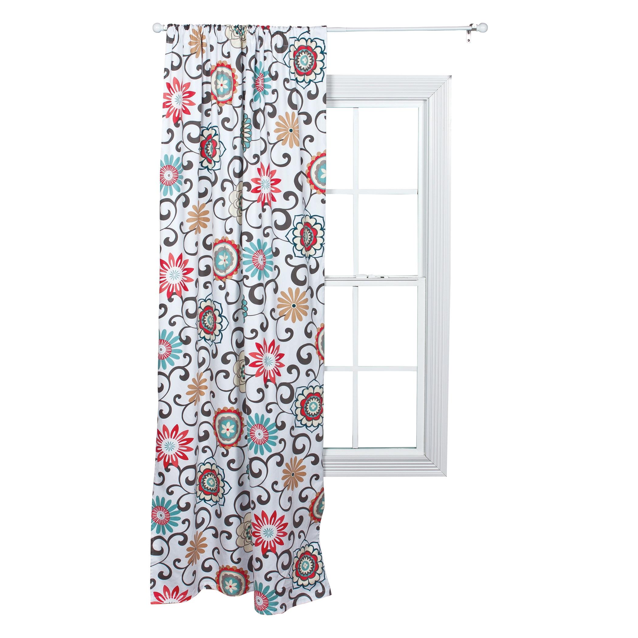 Trend Lab Waverly Pom Pom Play Floral Window Drape (Windo...