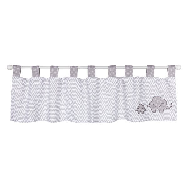 Trend Lab Safari Chevron Window Curtain Valance