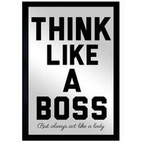 Oliver Gal 'Like A Boss' Mirror