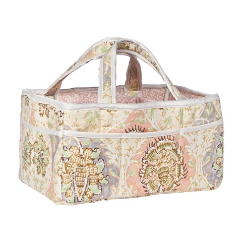 Trend Lab Waverly Rosewater Glam Diaper Caddy