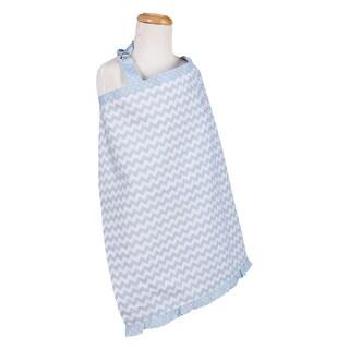 Trend Lab Blue Sky Chevron Nursing Cover