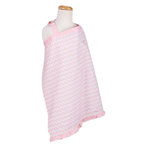 Trend Lab Pink Sky Chevron Nursing Cover