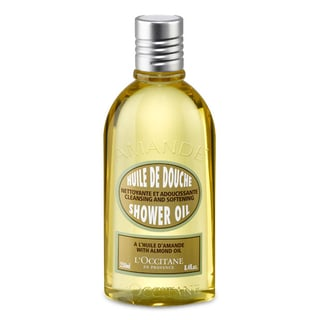 L'Occitane Cleansing and Softening 8.4-ounce Shower Oil with Almond Oil