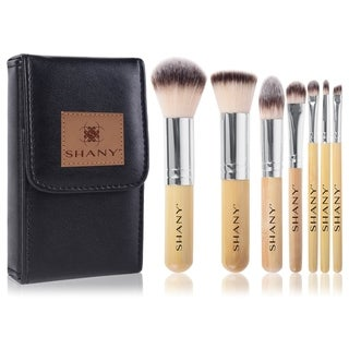 Shany I Love Bamboo 7-piece Petite Pro Bamboo Brush Set with Carrying Case