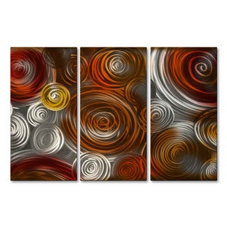 'Cosmic Cluster IV' Ash Carl Metal Wall Art