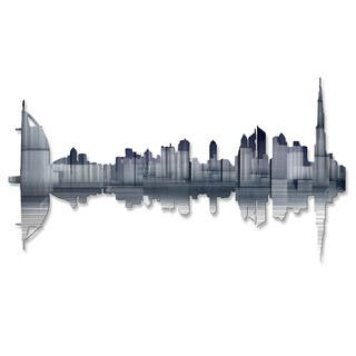 Metal Wall Art 'Dubai Reflection' Ash Carl https://ak1.ostkcdn.com/images/products/10909492/P17941287.jpg?impolicy=medium