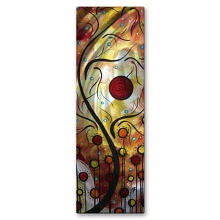 'Lollipop Land' Megan Duncanson Metal Wall Art