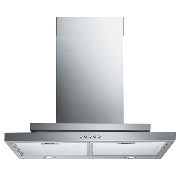 Contemporary 'Q2' 30-inch Wall Mount Wall Mount Range Hood