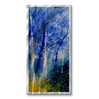 'Ghostly Stand' Pol Ledent Metal Wall Art
