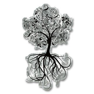 Metal Wall Art 'The Flowering Tree' Ash Carl