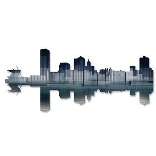'Milwaukee Reflection' Ash Carl Metal Wall Art