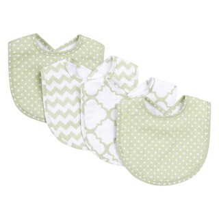 Trend Lab Sea Foam 4 Pack Bib Set