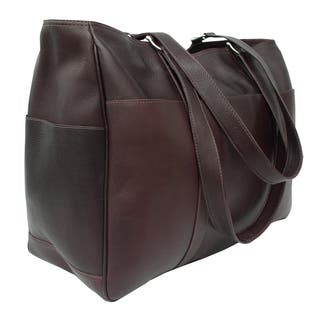 Piel Leather Large Shopping Tote Bag https://ak1.ostkcdn.com/images/products/10909678/P17941521.jpg?impolicy=medium