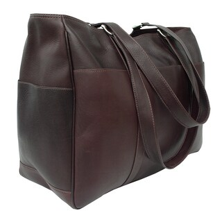 Piel Leather Large Shopping Tote Bag (2 options available)