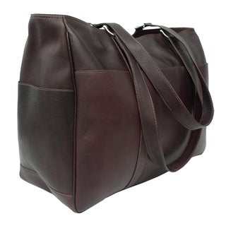 Piel Leather Large Shopping Tote Bag