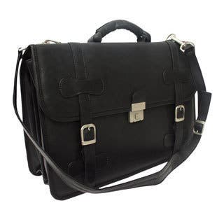 Piel Leather XXL Flap-over Portfolio Briefcase|https://ak1.ostkcdn.com/images/products/10909679/P17941522.jpg?impolicy=medium
