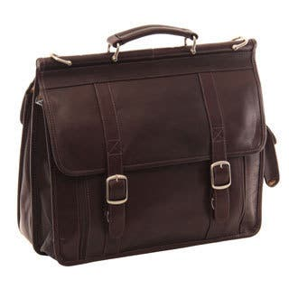 Piel Leather European Briefcase|https://ak1.ostkcdn.com/images/products/10909682/P17941525.jpg?impolicy=medium