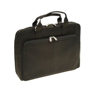 Piel Leather Slim Modern Portfolio Briefcase