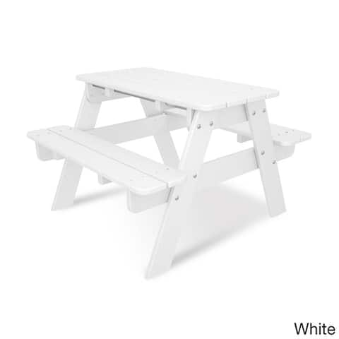 POLYWOOD® Kids Outdoor Picnic Table