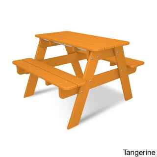 POLYWOOD Kids Outdoor Picnic Table
