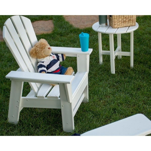Shop Polywood Kids Casual Outdoor Chair Free Shipping Today