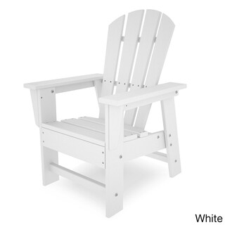 Polywood Kids Casual Chair (Option: White)