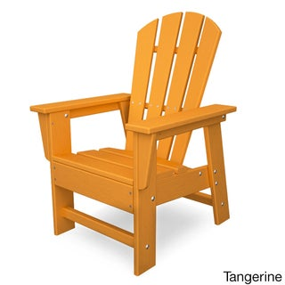 Polywood Kids Casual Chair (Option: Tangerine)