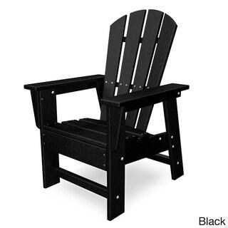 Polywood Kids Casual Chair (Option: Slate Grey)