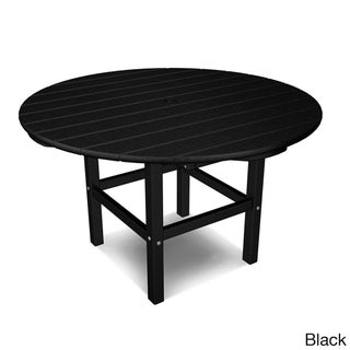 Polywood Kids 38-inch Dining Table (Option: Black)