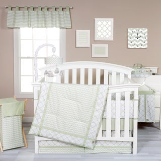 Trend Lab Sea Foam 3-piece Crib Bedding Set