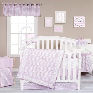 Trend Lab Orchid Bloom 3-piece Crib Bedding Set