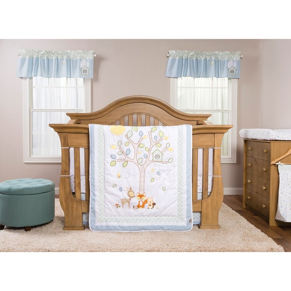 Shop Trend Lab Forest Tales 6 Piece Crib Bedding Set Free Shipping