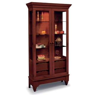 Philip Reinisch Co. Color Time Chili Pepper Red Summerville Display Cabinet