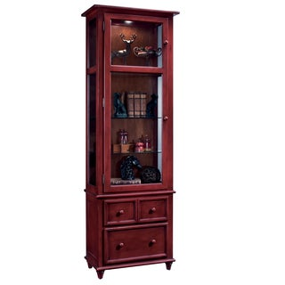 Philip Reinisch Co. Color Time Chili Pepper Red Vista Display Cabinet