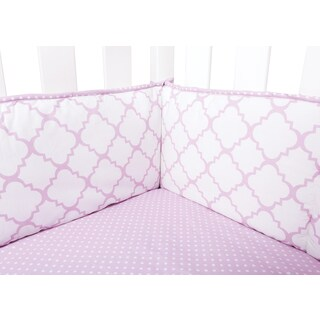 Trend Lab Orchid Bloom Crib Bumpers