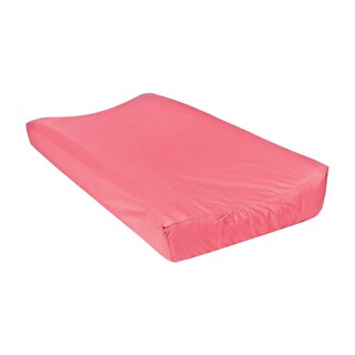 Trend Lab Waverly Pom Pom Play Coral Changing Pad Cover
