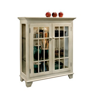 Philip Reinisch Co. Color Time Barlow White Display Cabinet