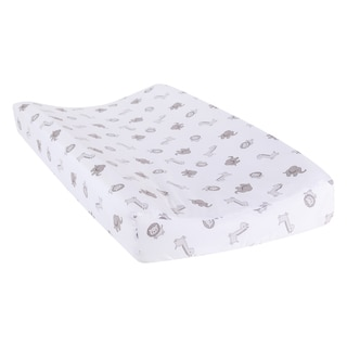 Safari Chevron Animals Changing Pad Cover