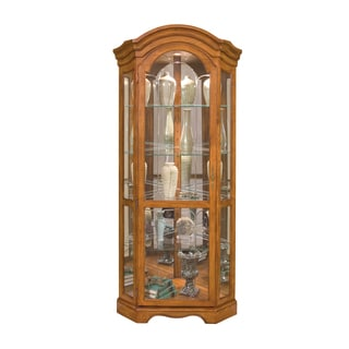 Philip Reinisch Co. Lighthouse Barrington Corner Curio Cabinet