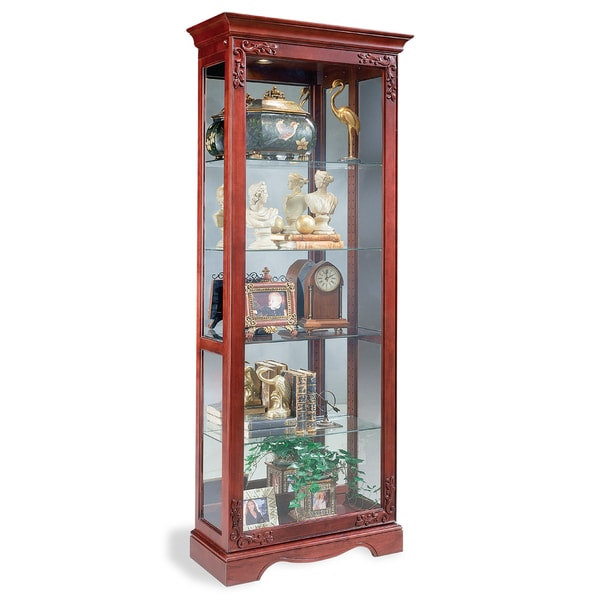 Philip Reinisch Co. Lighthouse Andante Curio Cabinet  sc 1 st  Overstock.com & Shop Philip Reinisch Co. Lighthouse Andante Curio Cabinet - Free ...